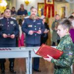 Учащиеся кадетских казачьих групп приняли присягу
