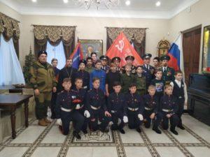 Торжественная церемония передачи точной копии Знамени Победы