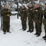 Панихида о жертвах геноцида казачества в полевых условиях